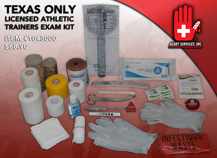 licensed athletic trainers exam kit